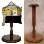 Mini Robert the Bruce Helmet and Stand